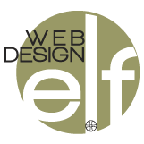 elf web design logo